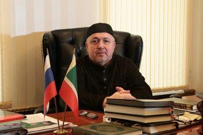 На фото: 1-й заместитель Полномочного Представителя Чеченской Республики при Президенте Российской Федерации  Сулейман-Хаджи Аутаев