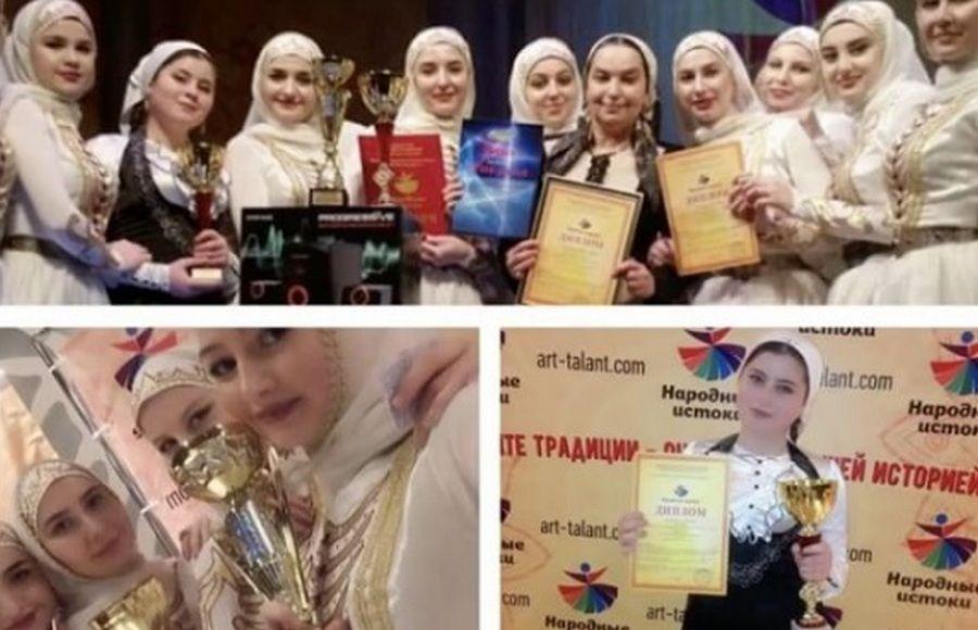 """Ансамбль """"Нур-Жовхар"""" выиграл Гран-При фестиваля """"Народные истоки"""""""