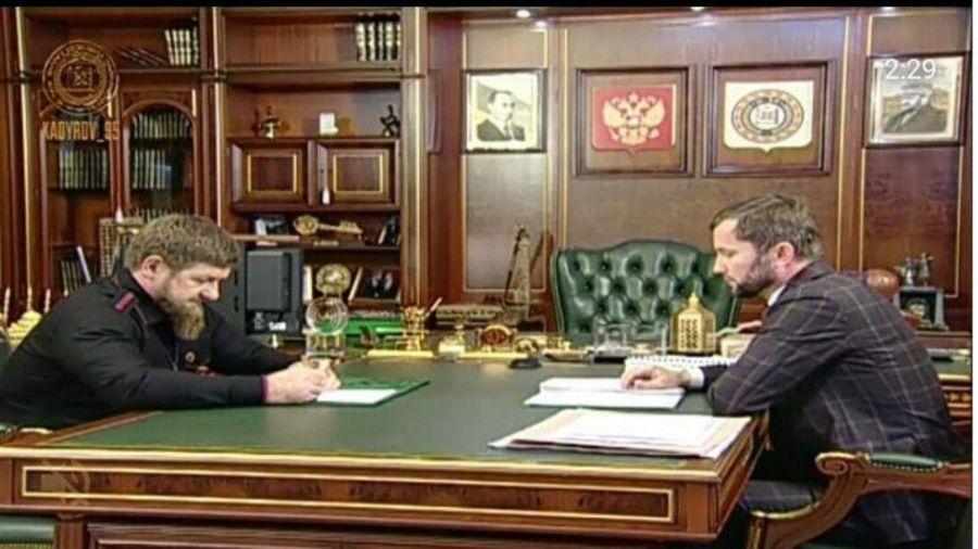 Р. Кадыров встретился с министром культуры Чеченской Республики