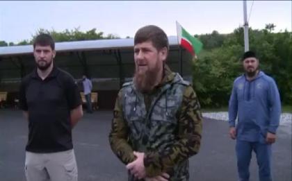 """Р. Кадыров посетил тренировочный полигон СОБР """"Терек"""""""