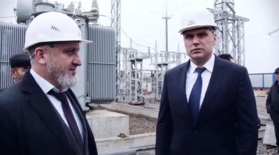 Делегация МРСК Северного Кавказа побывала с рабочим визитом в Чечне