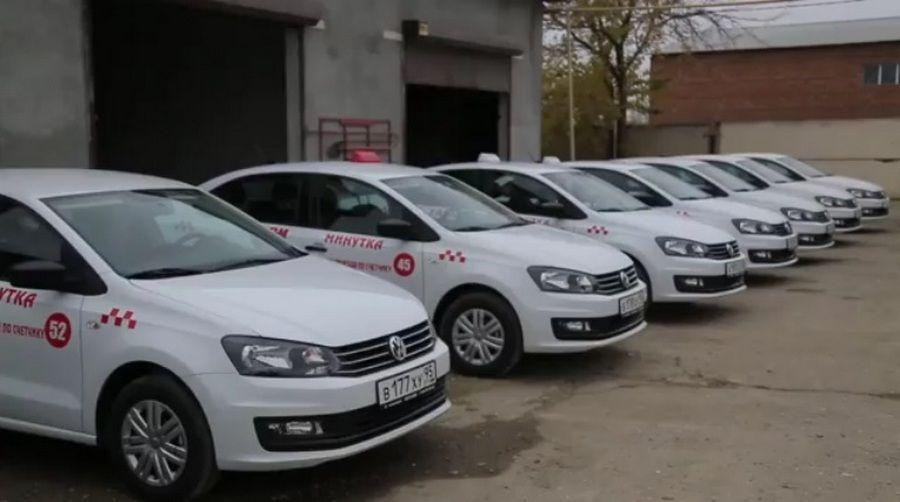 Таксопарк «Минутка» пополнился на 20 машин Фольксваген-Поло