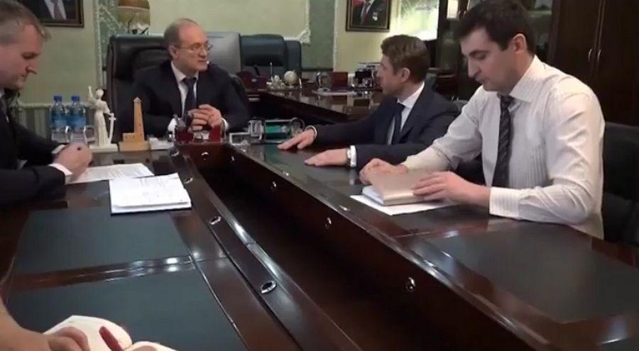 Прокурор Чечни встретился с новым управляющим Чеченским отделением Сбербанка