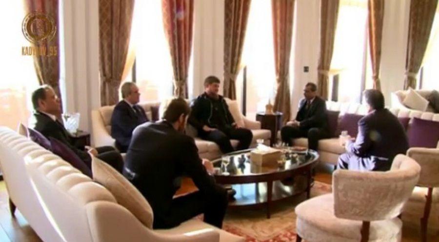 Кадыров планирует обсудить сМедведевым развитие исодержание Чечни