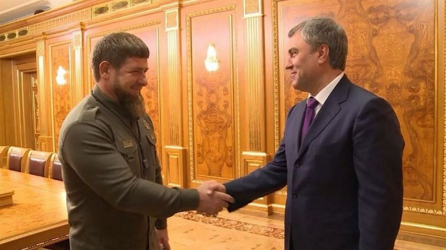 Рамзан Кадыров встретился с Председателем Госдумы РФ