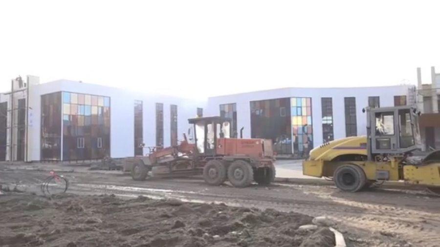В Сержень-юрте завершается строительство центра для детей с отклонениями в интеллектуальном развитии