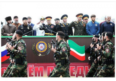 В Грозном прошел парад в честь 71-й годовщины Победы в Великой Отечественной войне
