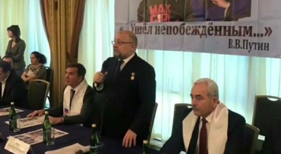 Д. Умаров принял участие в открытии VII Всероссийского детско-юношеского турнира по быстрым шахматам памяти А-Х. Кадырова