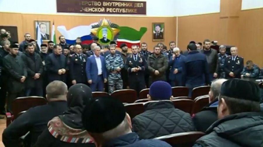 Правоохранители Чечни встретились с наркоманами и их родственниками