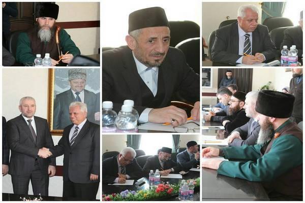В Чечне с рабочим визитом находится делегация из Сирии