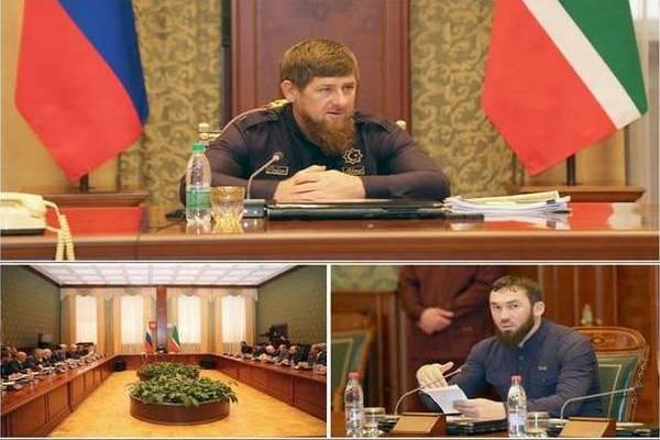 Р. Кадыров провел совещание по вопросам соблюдения земельного законодательства в муниципалитетах республики