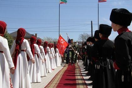 В Центорое запустили республиканскую эстафету «Знамя Победы»