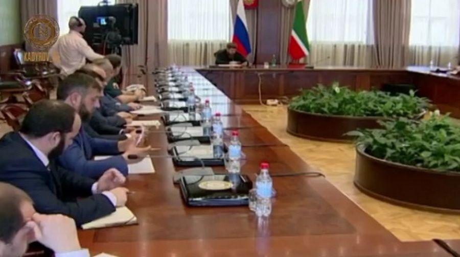 Р. Кадыров принял участие в селекторном совещании, посвященном реформе контрольно-надзорных органов