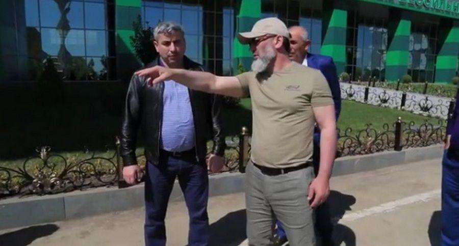 Рамзан Черхигов провел инспекцию строящихся объектов