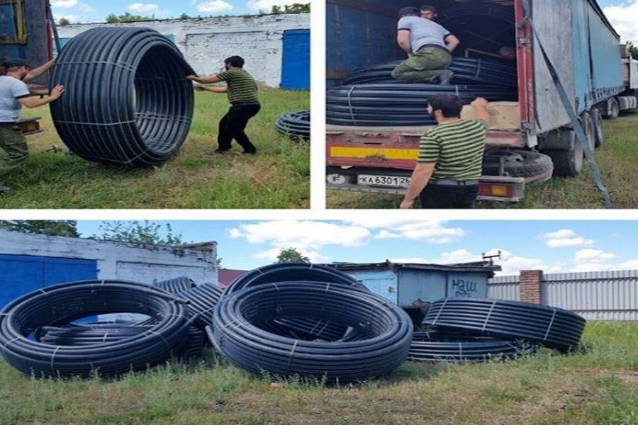 В Надтеречном районе проводятся работы по улучшению водоснабжения населения