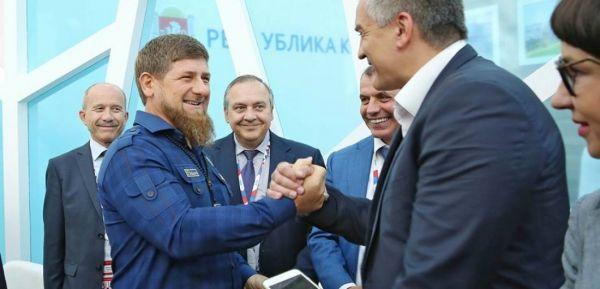 Р. Кадыров поздравил С. Аксёнова с днём рождения