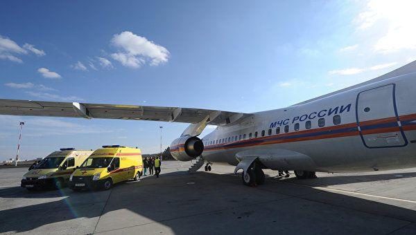 Спецборт МЧС доставит тяжелобольных детей изГрозного иРостова-на-Дону вПетербург