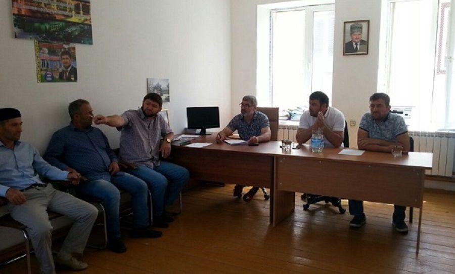 В Шаройском районе готовятся отметить день села Кенхи
