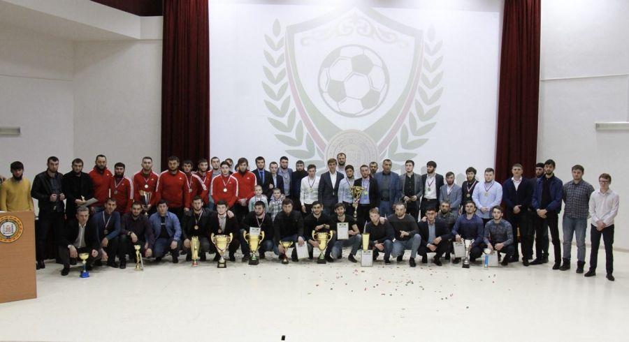 В Грозном подвели итоги «Любительской мини-футбольной лиги»
