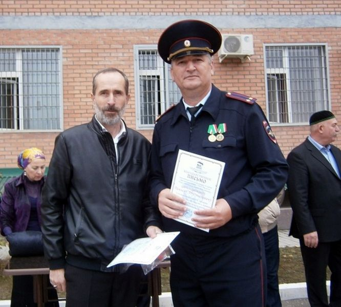 В Ножай-Юртовском районе отметили День сотрудника органов внутренних дел РФ