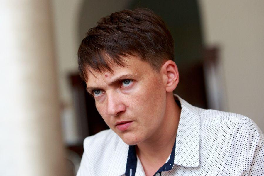 Савченко создала в свою честь партию