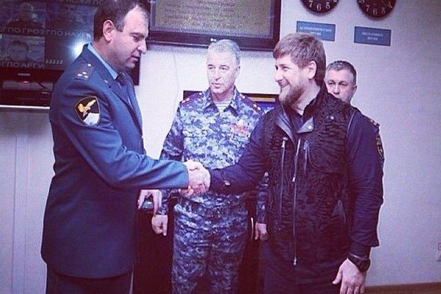 Рамзан Кадыров поздравил Руслана Яхъяева с днем рождения