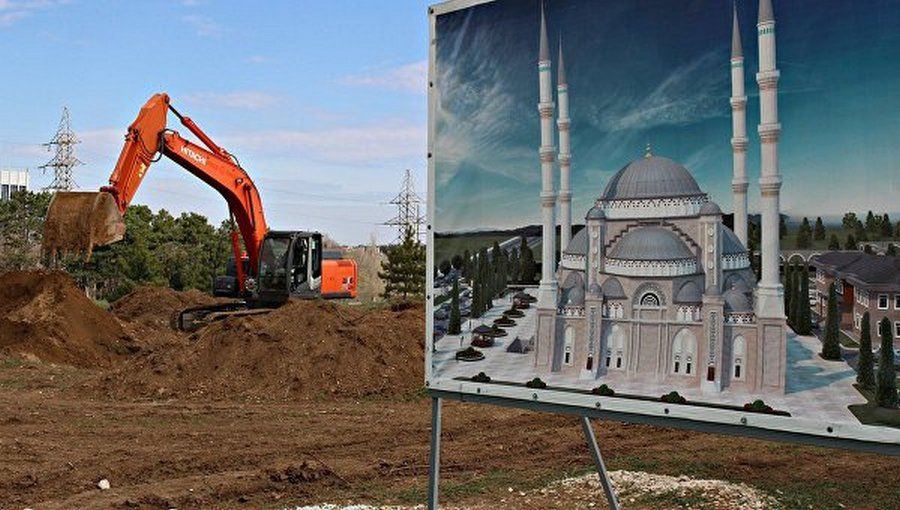 ВСимферополе заложили фундамент Соборной мечети