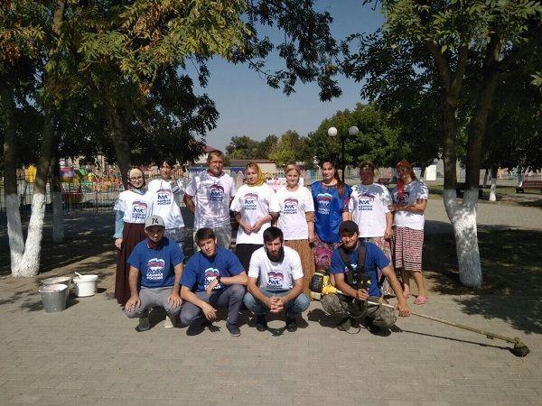 Партийный проект «Единой России» организовал экологические акции в парковых зонах районов Чечни