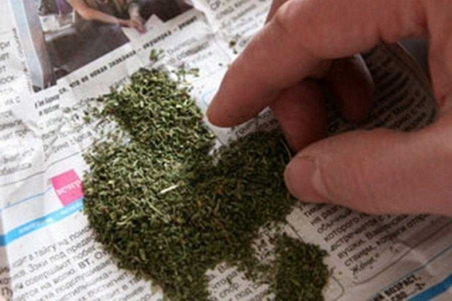 Чеченские полицейские изъяли у жителя Ножай-Юртовского района сверток с марихуаной