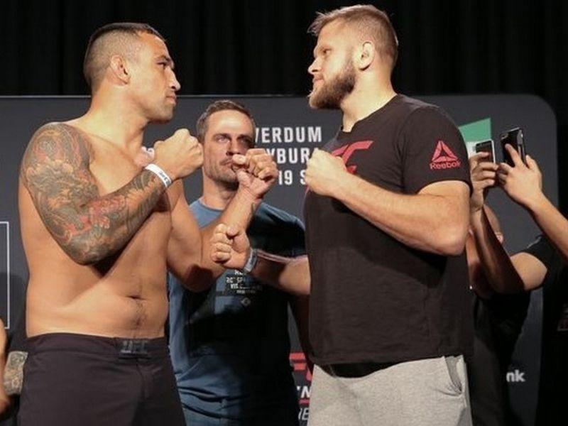 Рамзан Кадыров поздравил Вердума с победой на UFC Fight Night 121