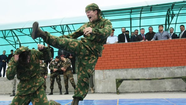 Казахский и китайский спецназ хочет сотрудничать с чеченским центром подготовки