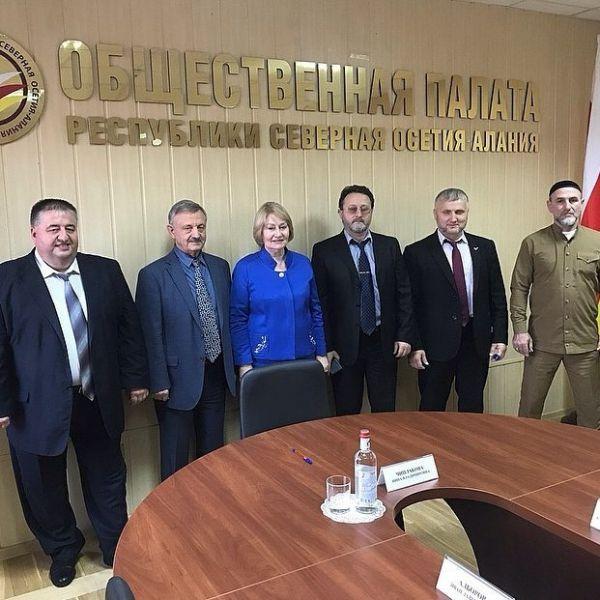 Делегация ОП ЧР провела переговоры во Владикавказе
