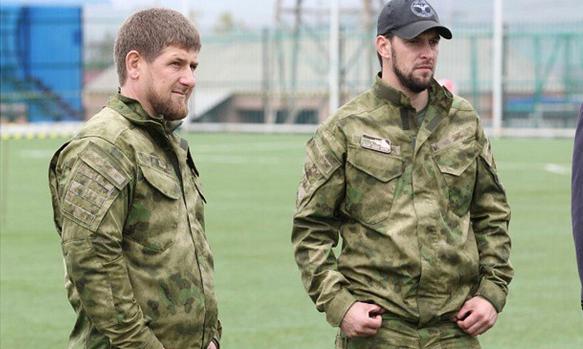 Р. Кадыров поздравил Д. Мартынова с днем рождения