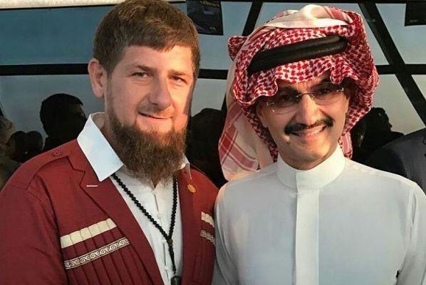 Рамзан Кадыров пригласил саудовского принца посетить Чечню