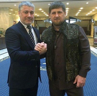 Рамзан Кадыров поздравил Сулеймана Геремеева с днем рождения