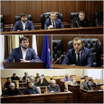Совет депутатов Грозного обсудил вопросы популяризации спорта среди молодежи