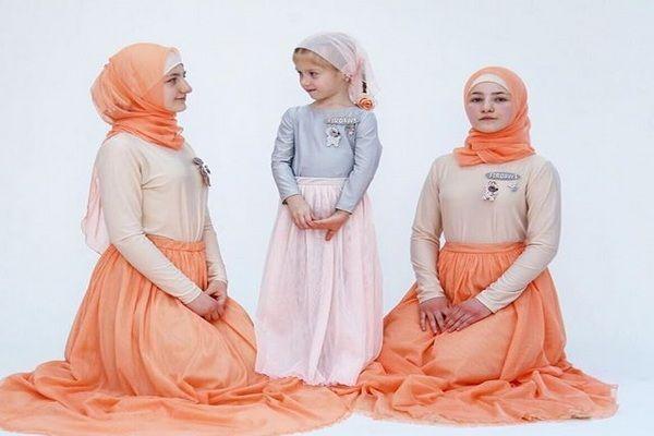 Дети Кадырова стали лицом Модного дома «Firdaws»