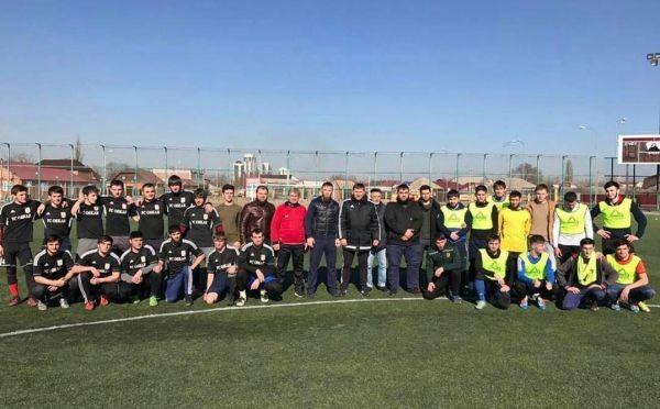 В Грозном прошел финал Открытого зимнего чемпионата ЧР по футболу