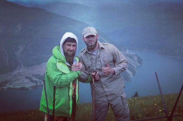 Глава ЧР Р. Кадыров  поздравил с днем рождения Ису Ибрагимова