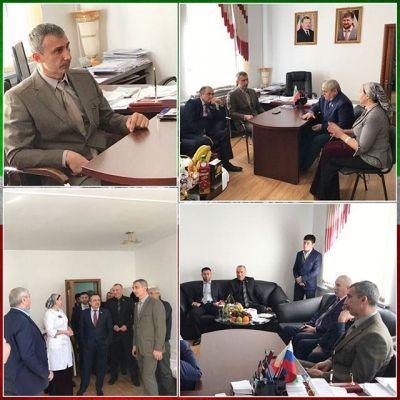 Чеченские законодатели посетили Ачхой-Мартановскую ЦРБ