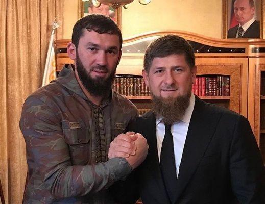 Рамзан Кадыров поздравил с днем рождения Магомеда Даудова
