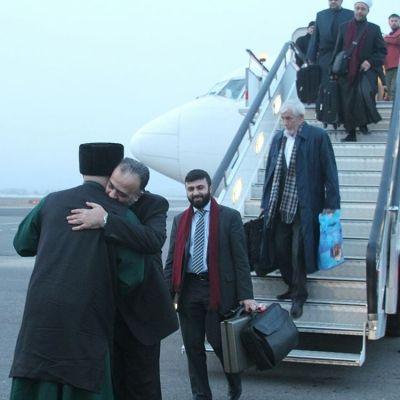 Министр поделам религии Сирии прилетел вЧечню