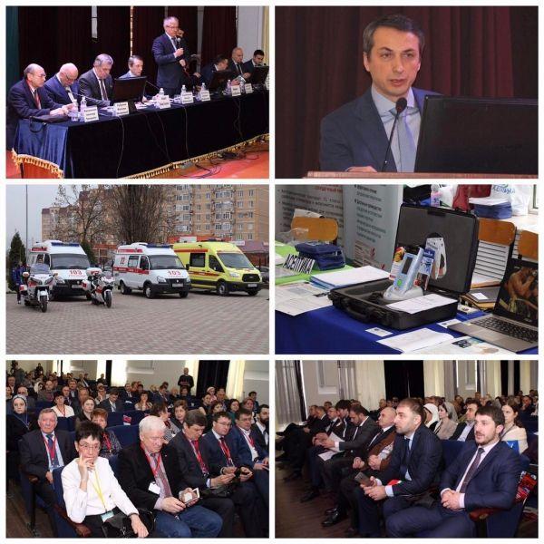 В Грозном стартовал форум по внедрению инновационной техники в практику скорой помощи
