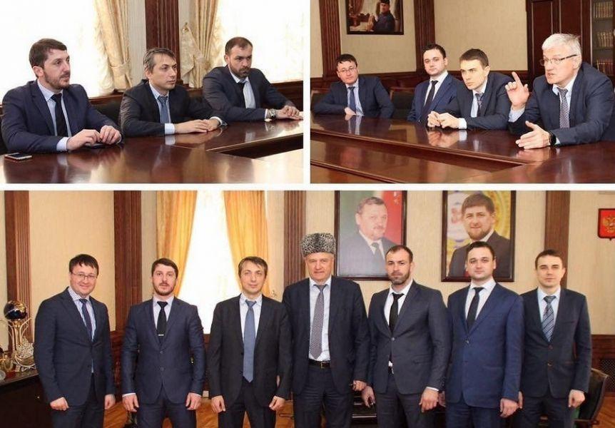 Министр здравоохранения ЧР встретился с ректором Санкт-Петербургского медуниверситета