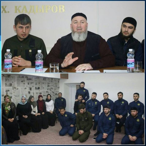 Рызван Дадаев встретился с активистами МОПД «Ахмат»