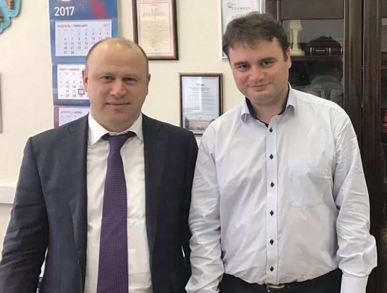 Галас Таймасханов провел совещание с Замминистра промышленности и торговли РФ
