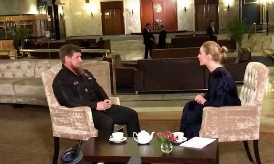 Глава Чечни дал интервью федеральному каналу «Россия 24»