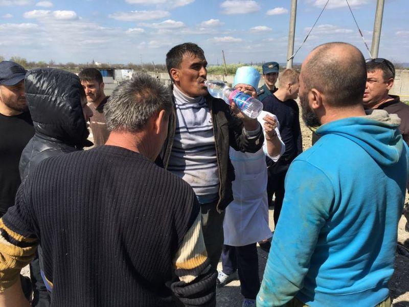 В Чечне спасли двух рабочих из 19-метрового колодца