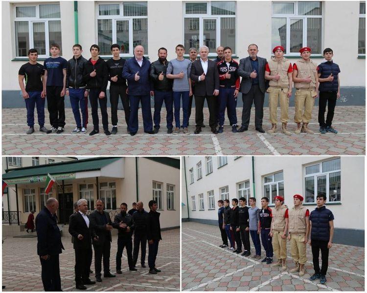 В Грозном готовятся к военно-патриотической игре среди старшеклассников