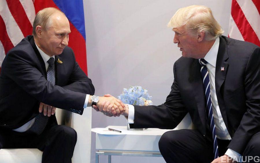 Трамп назвал встречу с Путиным в Гамбурге потрясающей